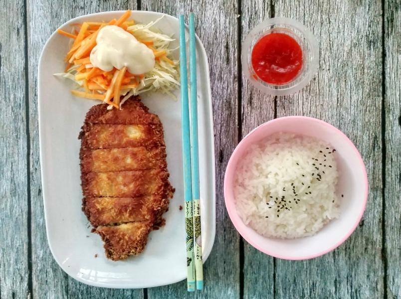 Resep Praktis Chicken Katsu
