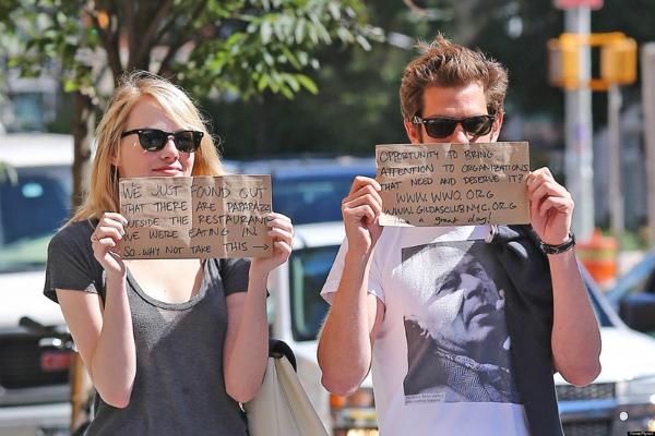 Ini Bukti Emma Stone Dan Andrew Garfield Adalah Pasangan Selebriti Idaman Sepanjang Masa Womantalk
