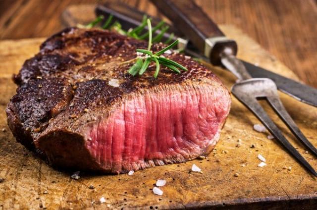 tingkat matang steak