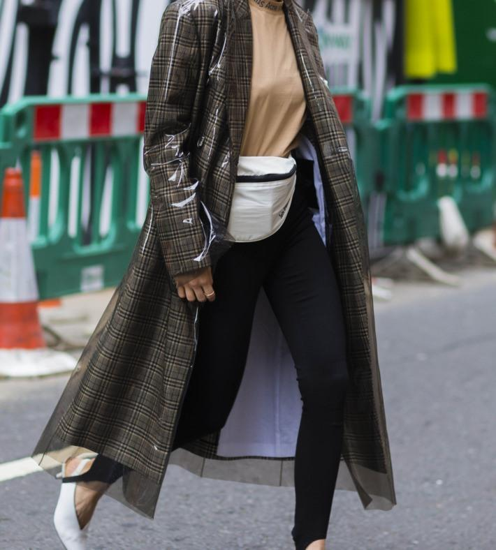 Tas Pinggang Jadi Tren Street Style Selama London Fashion Week 2018 -  Womantalk