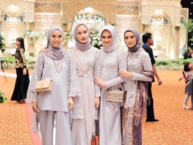 Padu Padan Hijab Simpel Dan Elegan Untuk Pesta Pernikahan Womantalk
