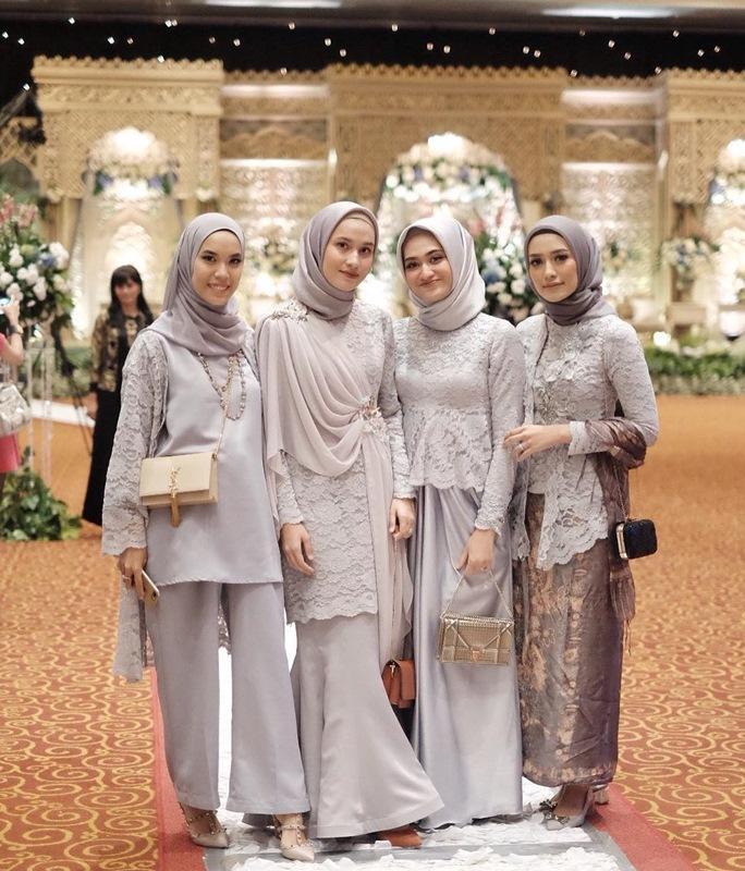 Intip Inspirasi Padu Padan Hijab Cantik Untuk Berpesta Ini Womantalk