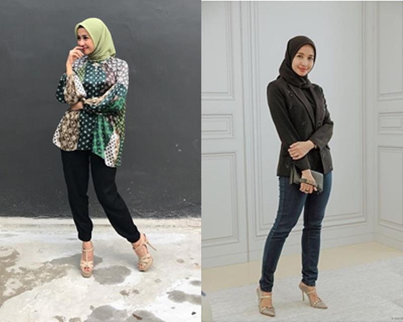 Tips Tampil Stylish Dengan Hijab Simpel Ala Laudya Cynthia Bella Womantalk
