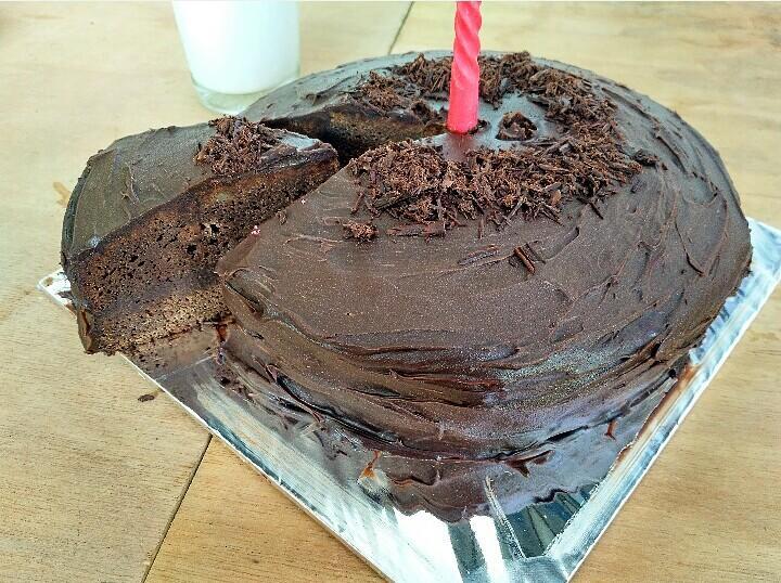 Resep Double Chocolate Cake Kue Nikmat Pas Buat Penyuka