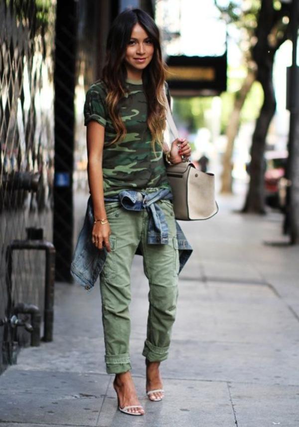 Padu Padan Gaya Camouflage Yang Fashionable Untuk Rayakan Hut Tni Ke