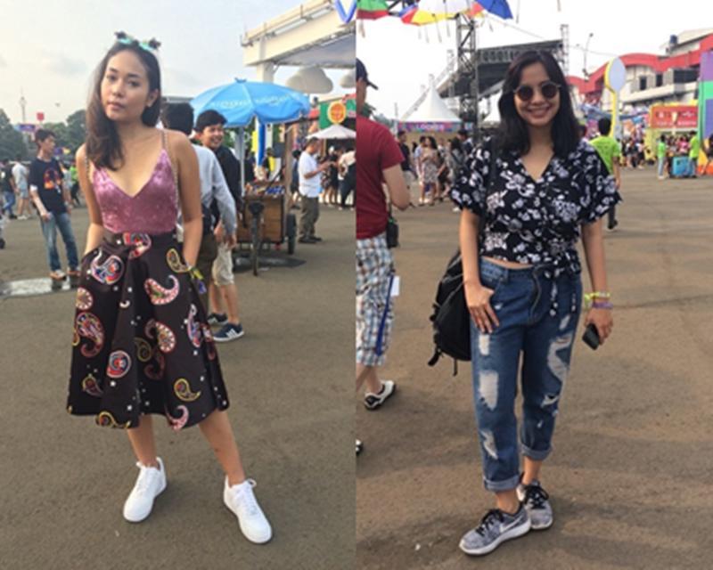 Dari Pengunjung Hingga Selebgram, Ini Ragam Street Style Keren Di We The Fest 2017