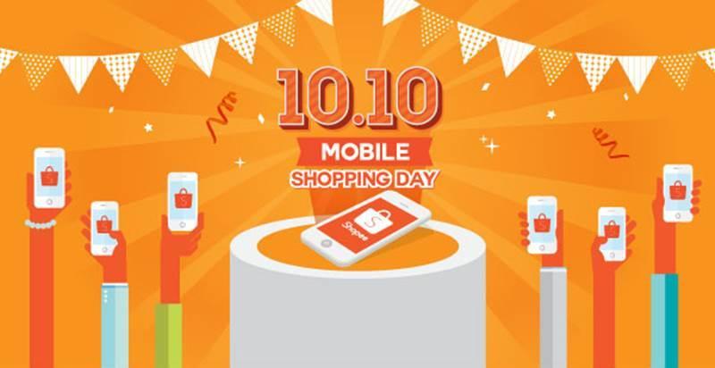 Shopee Terima Hampir 1 Juta Pesanan Dalam Waktu 24 Jam Di 10.10 Big Mobile Shopping Day 2017