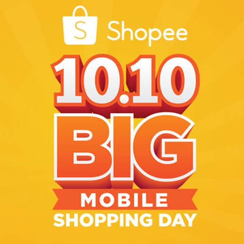 Dua Penawaran Terbesar Di Shopee 10 10 Big Mobile Shopping Day 2017 Womantalk