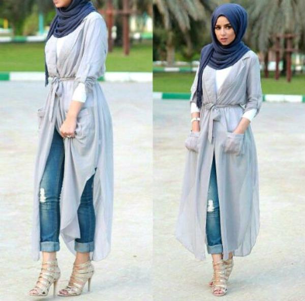 10 Cara Stylish Padukan Jeans Dengan Hijab Womantalk