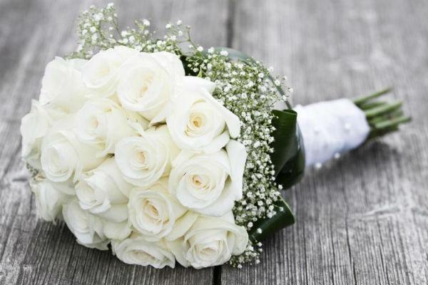 Mawar putih.
