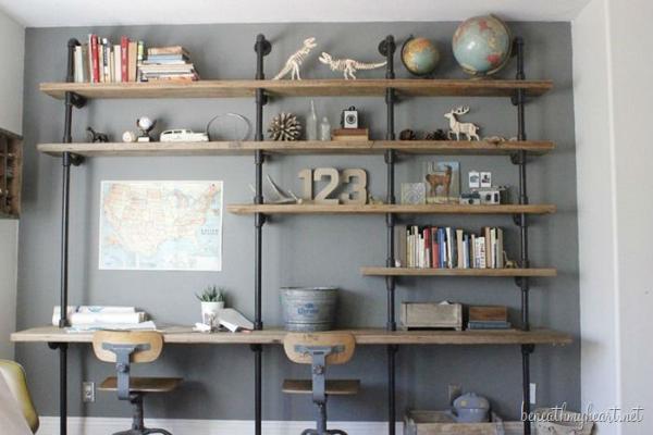 10 Rak Dinding Unik Untuk Rumah Anda