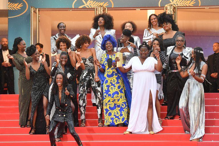Puluhan Aktris Kulit Hitam Lakukan Protes Di Festival Cannes Dengan Mengenakan Baju Balmain